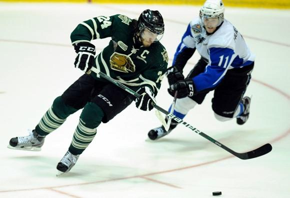 Jarred Tinordi - London Knights