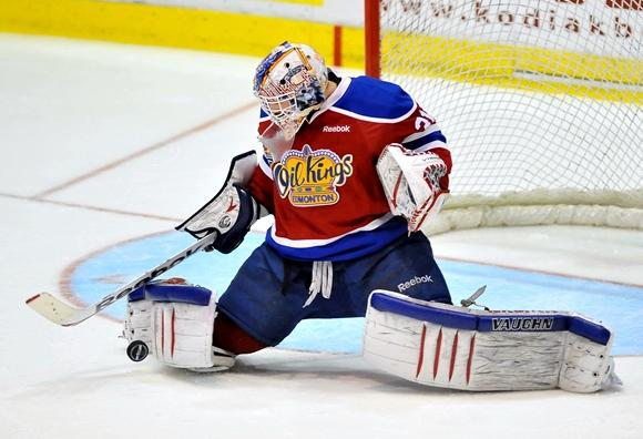 Laurent Brossoit - Edmonton Oil Kings