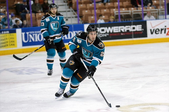 Travis Oleksuk - Worcester Sharks