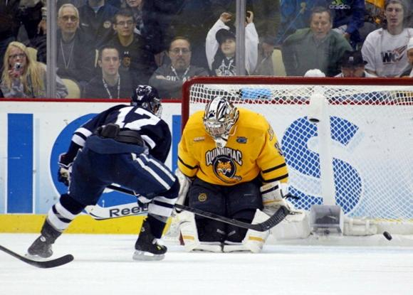 Andrew Miller and Eric Hartzell - 2013 Frozen Four