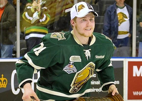 Christ Tierney - London Knights