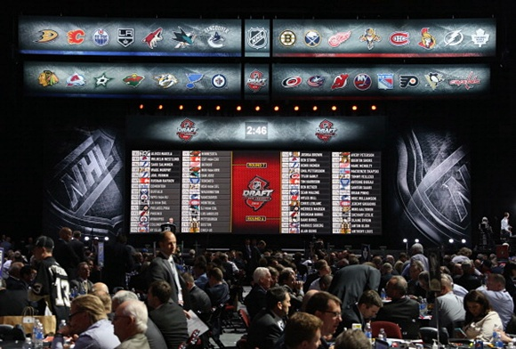 2013 NHL Draft Floor - Prudential Center