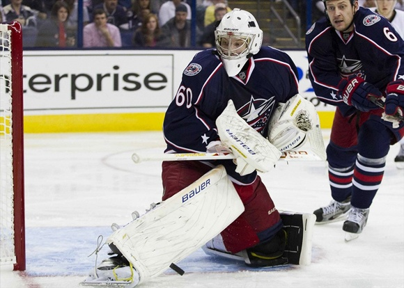 Oscar Dansk - Columbus Blue Jackets