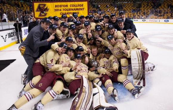 Boston College - 2014 Beanpot Tournament Champions