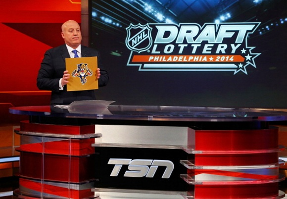Panthers leap over Sabres to land top pick in NHL Draft Lottery