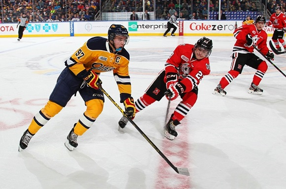 2015 NHL Draft: McDavid does not disappoint in Otters win in Buffalo