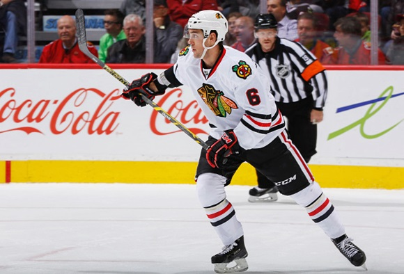 Adam Clendening - Chicago Blackhawks