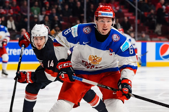 Vladislav Gavrikov - Team Russia - 2015 IIHF World Junior Championship