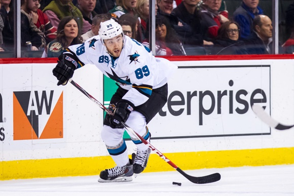Barclay Goodrow - San Jose Sharks