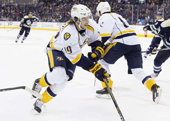 Photo: Nashville Predators forward Calle Jarnkrok has played a depth role in his first full season (courtesy of Jason Mowry/Icon Sportswire)