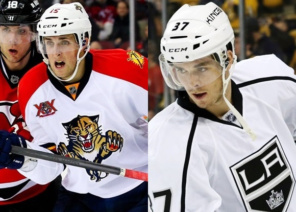 Drew Shore - Calgary Flames; Nick Shore - Los Angeles Kings - Top 5 Hockey Families
