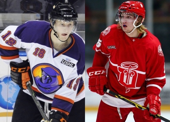 Kyle Connor - Youngstown Phantoms; William Lagesson - Dubuque Fighting Saints