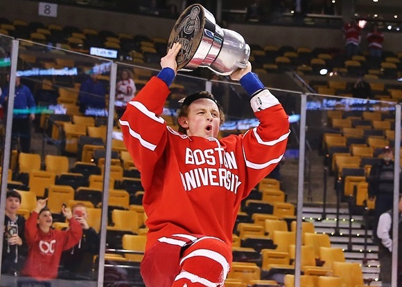 Jack Eichel - Boston University - 2015 Beanpot Tournament Championship