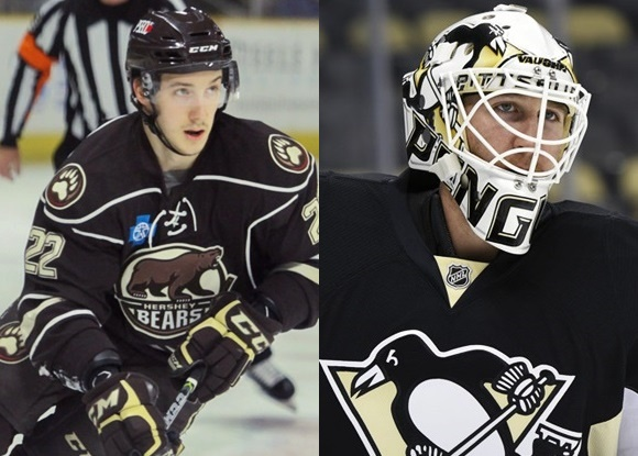 Stanislav Galiev - Hershey Bears; Matt Murray - Wilkes-Barre/Scranton Penguins - Prospect Faceoff 3-11