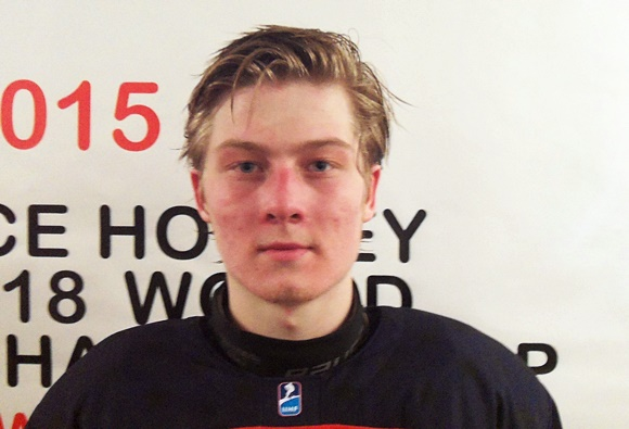 (Video) 2015 U18 World Championship: Joe Masonius, Defenseman, and Mike Floodstrand, Forward, USA