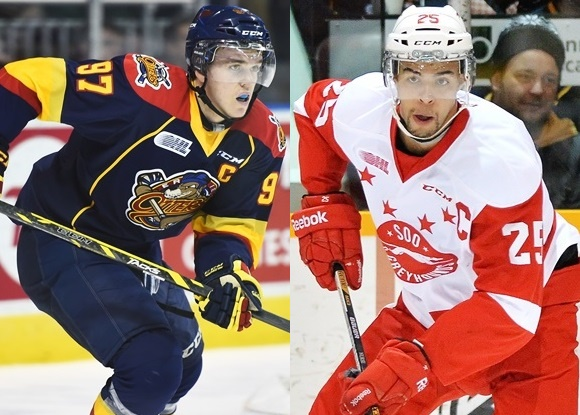 Connor McDavid - Erie Otters; Darnell Nurse - Sault Ste. Marie Greyhounds - Prospect Faceoff 4/29/15