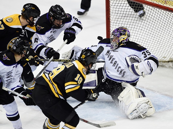 Stephon Williams - Minnesota State University - 2015 WCHA Final Five - Championship