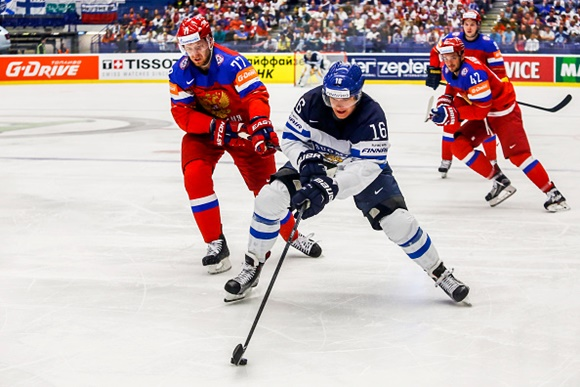 Aleksander Barkov - Team Finland - 2015 IIHF Ice Hockey World Championship
