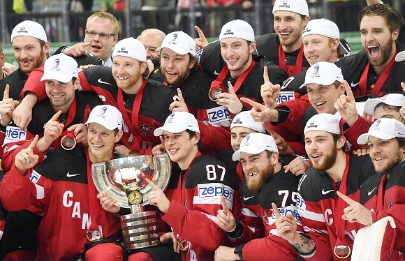 Team Canada - Gold Medal Winners - 2015 IIHF Ice Hockey World Championship Gold Medal Game
