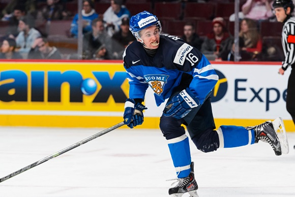 Mikko Rantanen - Team Finland - 2015 IIHF World Junior Championship