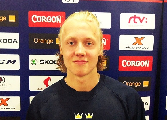 Alexander Nylander - Team Sweden - 2015 Ivan Hlinka Memorial Tournament