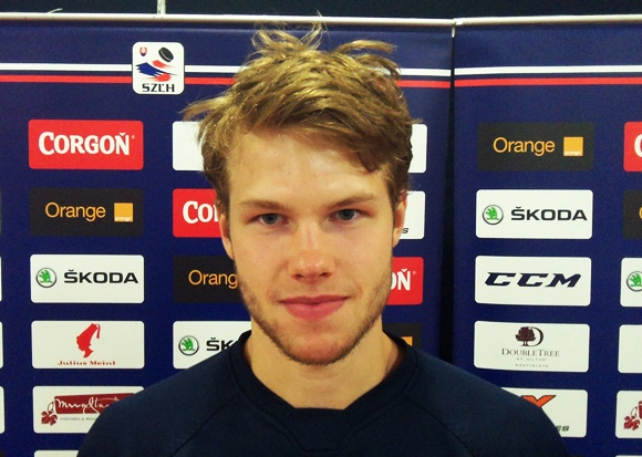 Filip Gustavsson - Team Sweden - 2015 Ivan Hlinka Memorial Tournament