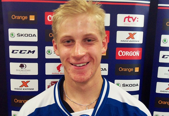 Juuso Valimaki - Team Finland - 2015 Ivan Hlinka Memorial Tournament