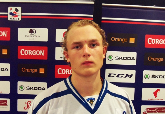 2017 NHL Draft: Q&A with Team Finland forward Kristian Vesalainen