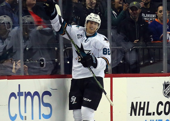 Nikolay Goldobin - San Jose Sharks