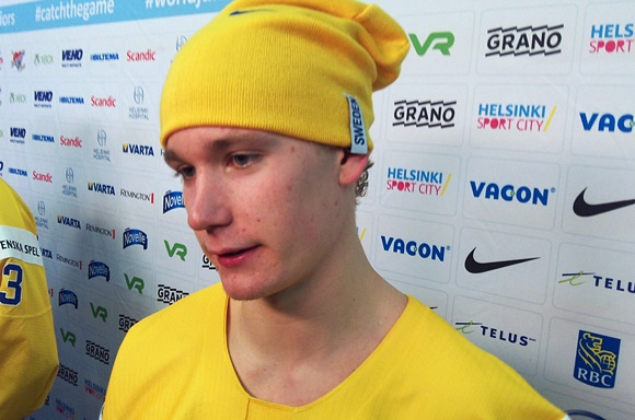 Gustav Forsling - Team Sweden - 2016 IIHF World Junior Championship