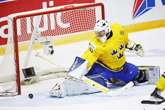 Linus Soderstrom - Team Sweden - 2016 IIHF World Junior Championship