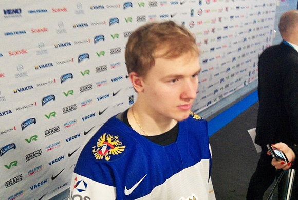Max Lazarev - Team Russia - 2016 IIHF World Junior Championship