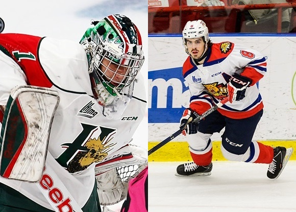 Eric Brassard - Halifax Mooseheads; Conor Garland - Moncton Wildcats - NHL Prospect Faceoff for 1/29/16
