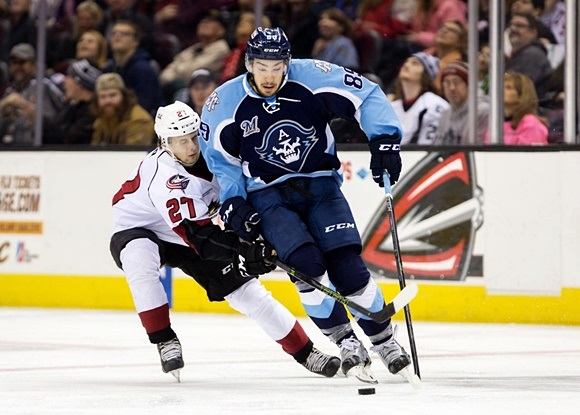 Admirals' Gaudreau building momentum towards NHL opportunity