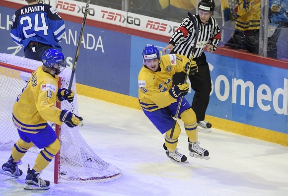Rasmus Asplund - Team Sweden - 2016 IIHF World Junior Championship