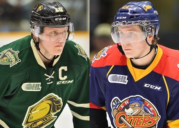 Christian Dvorak - London Knights; Travis Dermott - Erie Otters - Prospect Faceoff for 3/18/16