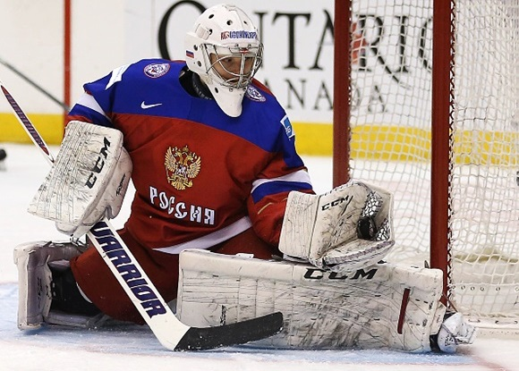 Sorokin leads small but growing group of NHL-drafted goaltenders competing in Russia