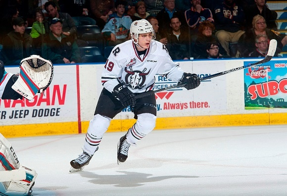 Jake DeBrusk - Red Deer Rebels