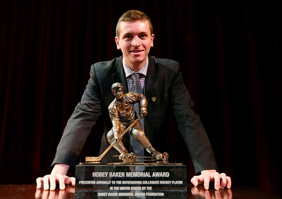 Jimmy Vesey - Harvard University - 2016 Hobey Baker Memorial Award