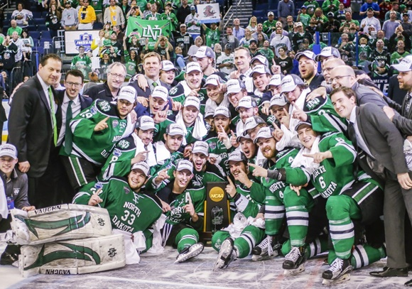 University of North Dakota - National Champions - 2016 NCAA Frozen Four