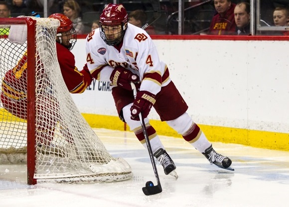 2016 NCAA Frozen Four: Offensive game blossoms for Pioneers' Butcher