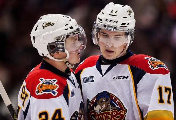 Darren Raddysh and Taylor Raddysh - Erie Otters
