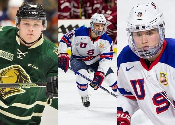 2016 NHL Draft Prospects - Max Jones, Clayton Keller, and Kieffer Bellows