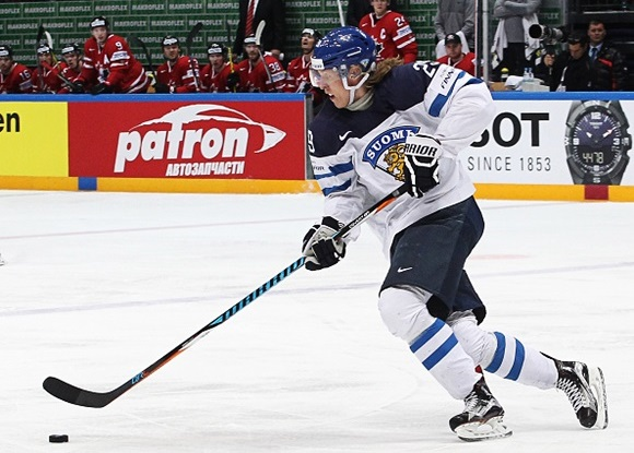 Patrik Laine - Team Finland - 2016 IIHF World Championship Ice Hockey: Gold Medal Game